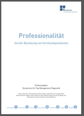Professionalitaet titel